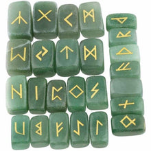 Load image into Gallery viewer, Natural Stone Runes Set