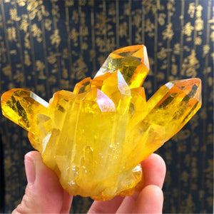 1pc Natural Citrine Cluster