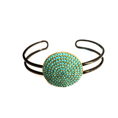 C1051s/g open wire cuff pave disk