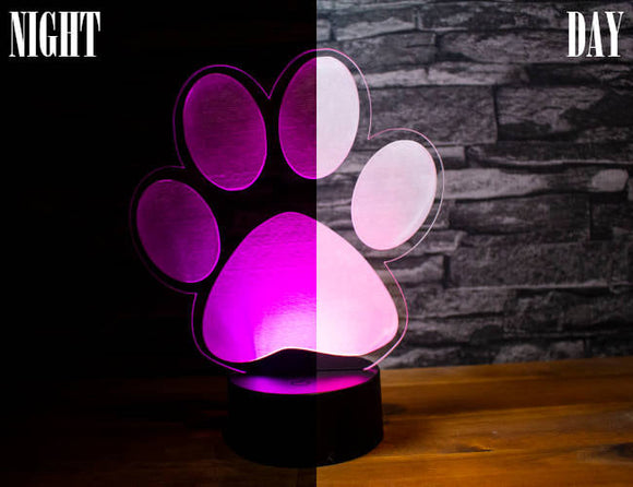 Paw Led Light