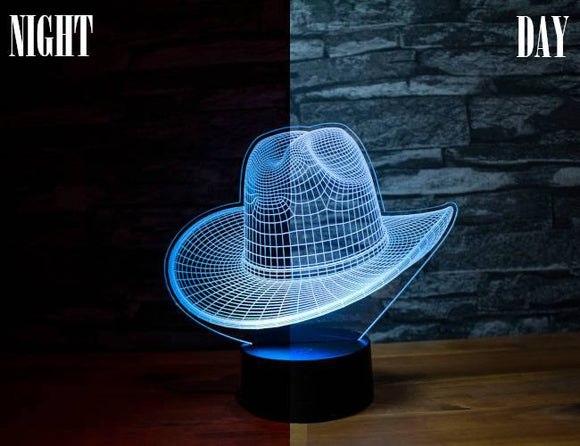 Cowboy Hat Led Light
