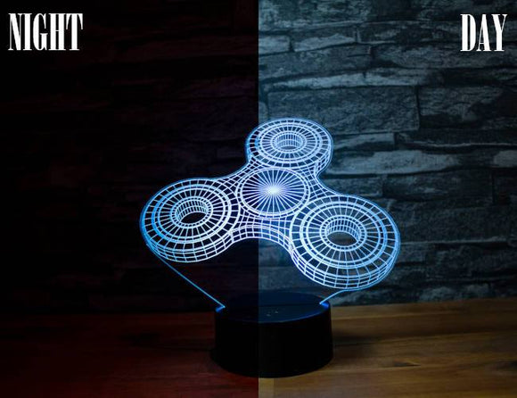 Fidget Spinner Led Light