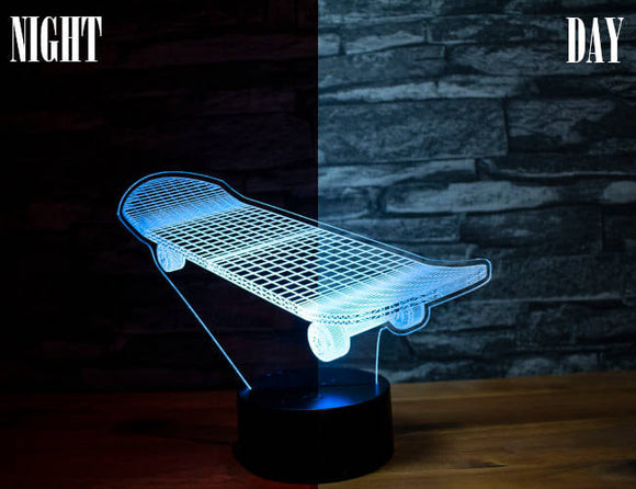 Skateboard Led Light
