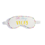 OH HEY VACAY EYE MASK,IVORY
