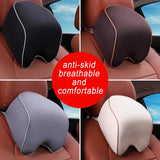 Car Pillow Space Memory Foam Fabric Neck Headrest
