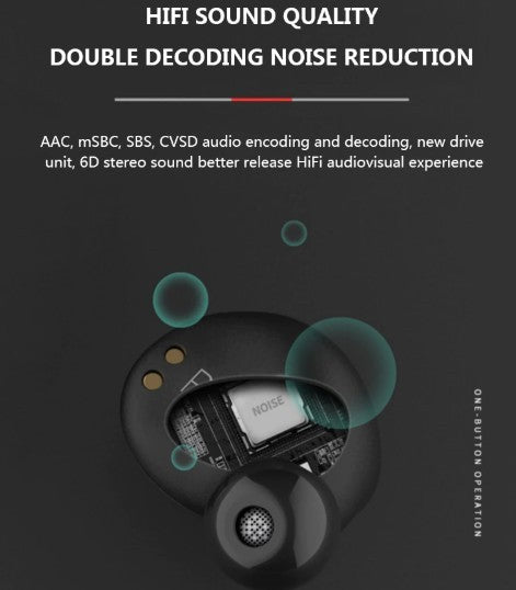 CX2 True Wireless Bluetooth 5.0 Earbuds with 1200 mah battery bank