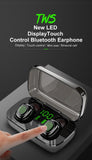 Bluetooth Earphones LED Digital TWS Touching Ctrl Earbud Stereo