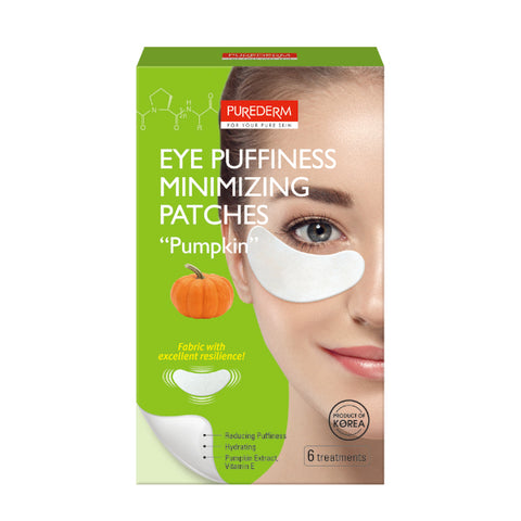 "Purederm - Eye Puffiness Minimizing Patches ""Pumpkin"""