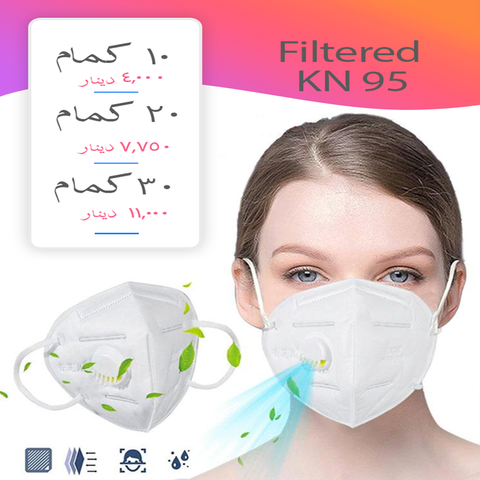 Protective Filtered Mask ( Valve )