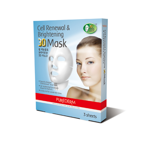 Purederm -  Cell Renewal & Brightening 3D Mask
