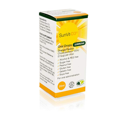 SunVit - D3 Oral Drops