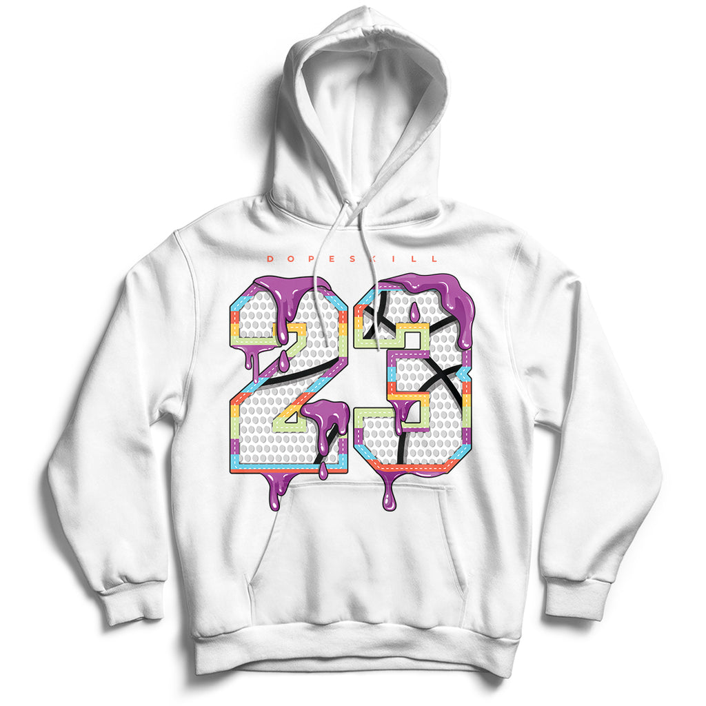 23 Unisex Hoodie Match Air Jordan 1 Mid Multicolor