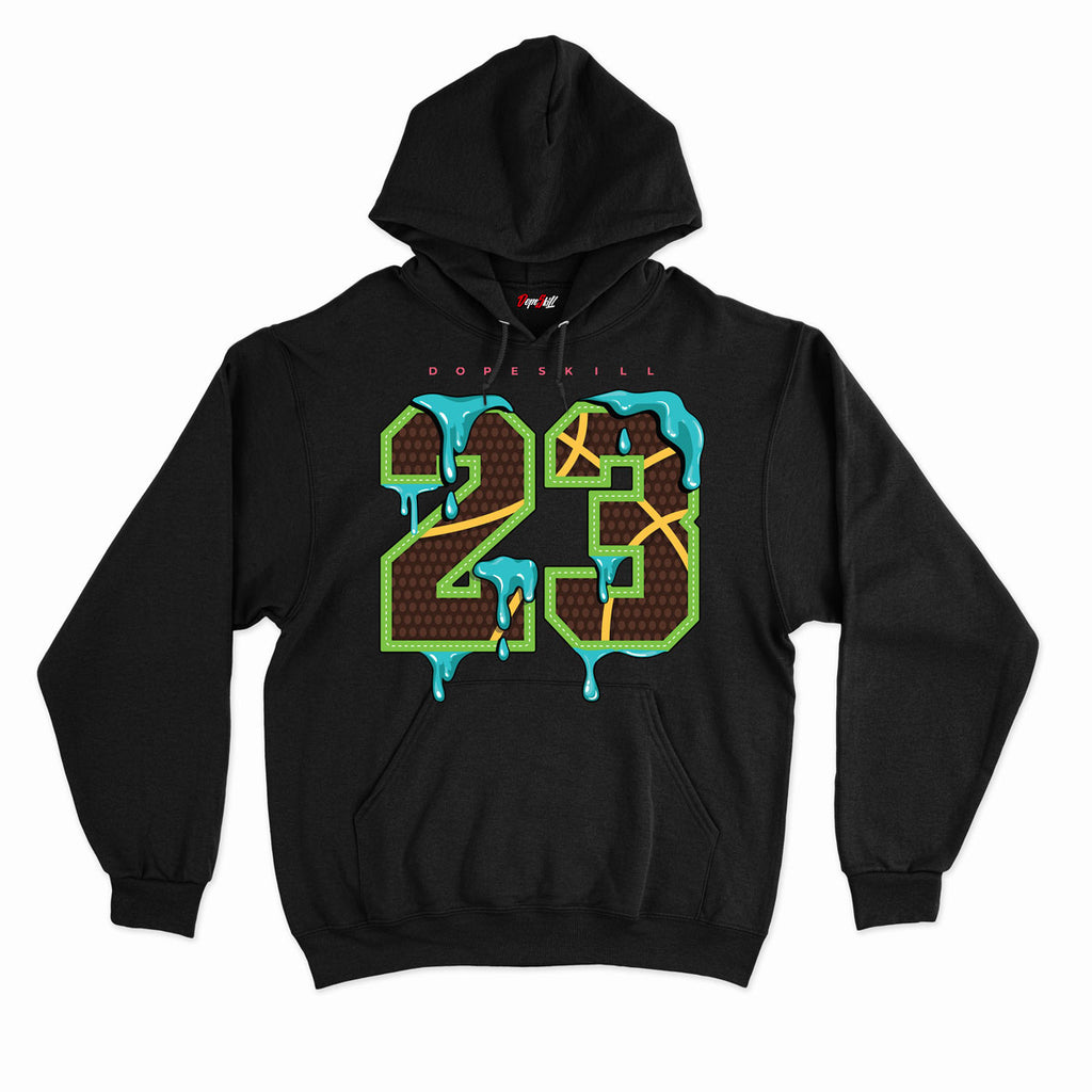 23 Unisex Hoodie Match Air Jordan 1 High OG Bio Hack