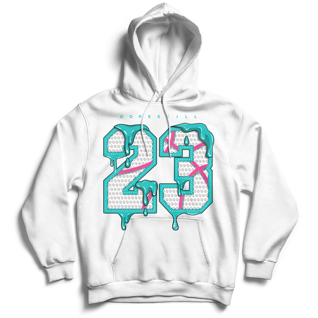 23 Unisex Hoodie Match Air Jordan 8 Retro 'South Beach'