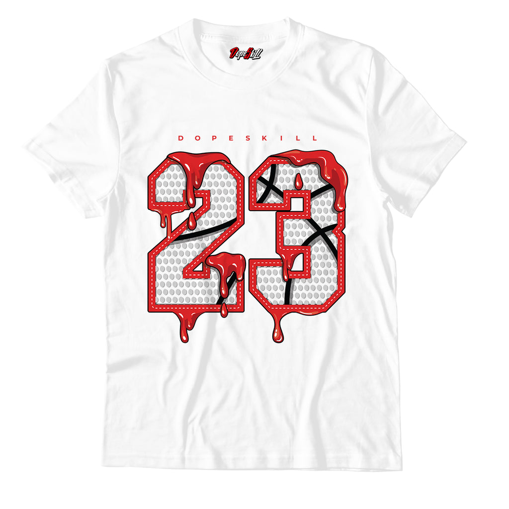 23 Unisex TShirt Match Jordan 1 Mid Chicago Toe - Jordan 1 Retro High Satin Snake Chicago