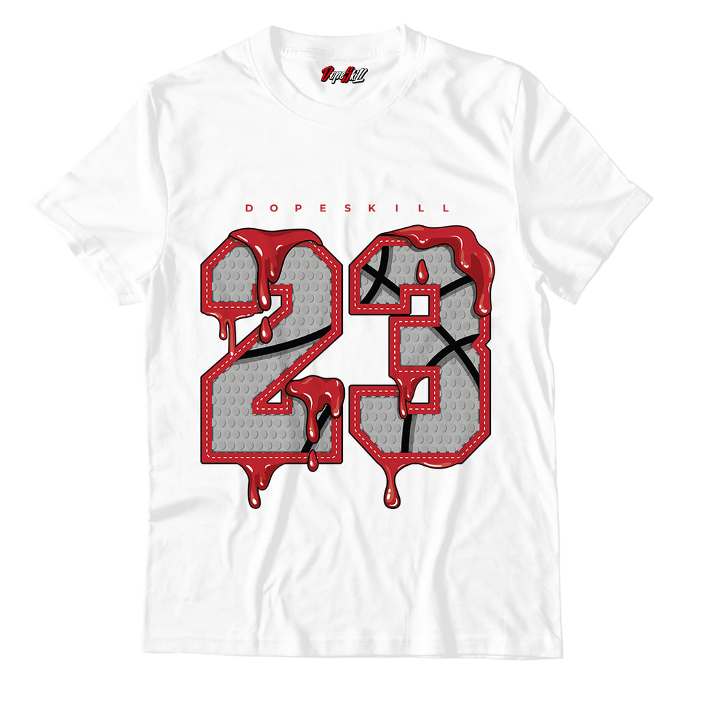 23 Unisex TShirt Match Jordan 1 Retro High Light Smoke Grey