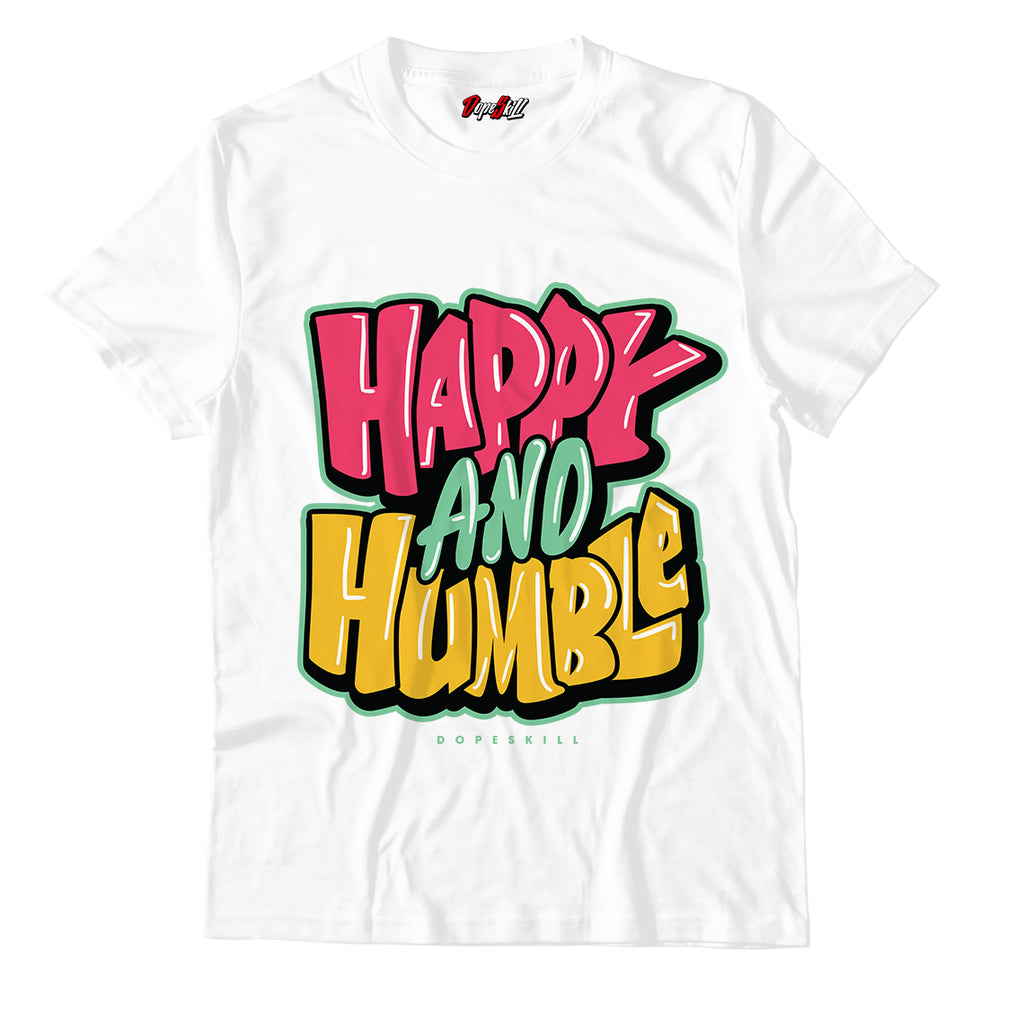 Happy And Humble Unisex TShirt Match Air Jordan 6 Retro Hare