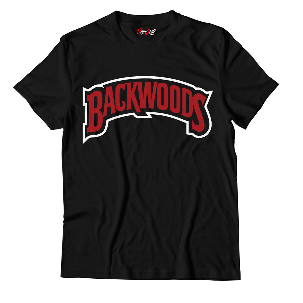 Backwoods Unisex TShirt Match Jordan 1 Varsity Red