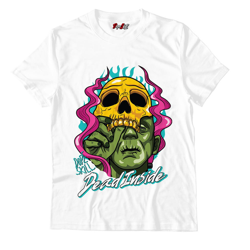 Dead Inside Unisex TShirt Match Air Jordan 8 Retro 'South Beach'