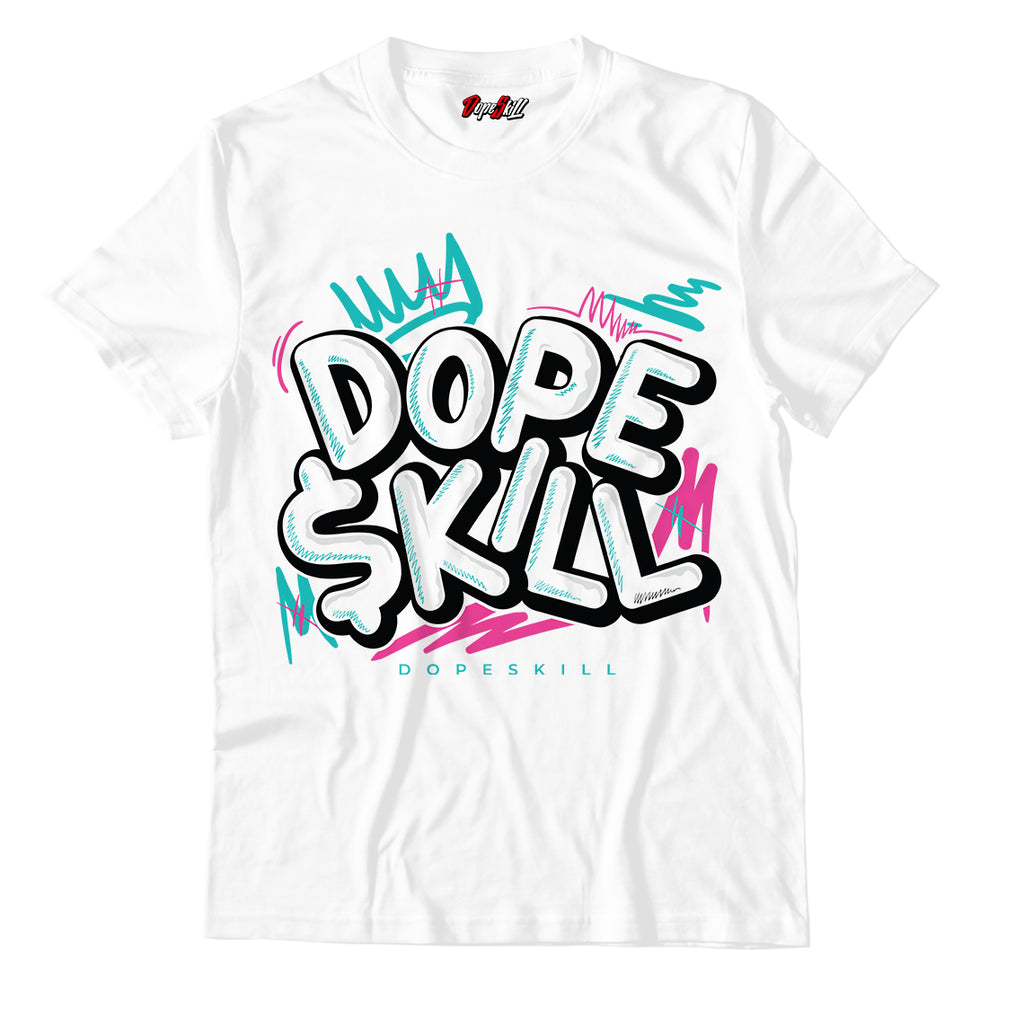 Dope Skill Unisex TShirt Match Air Jordan 8 Retro 'South Beach'