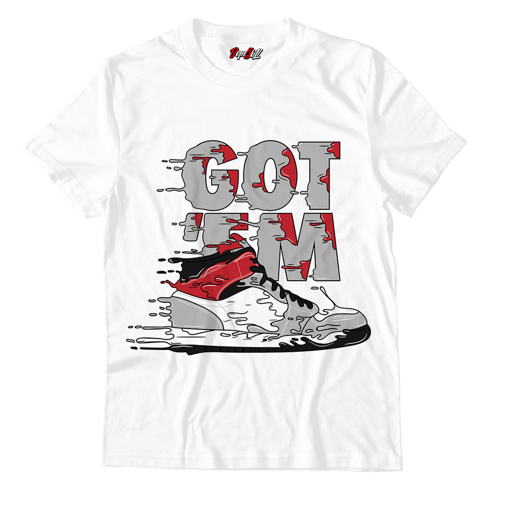Got 'em Unisex TShirt Match Jordan 1 Retro High Light Smoke Grey