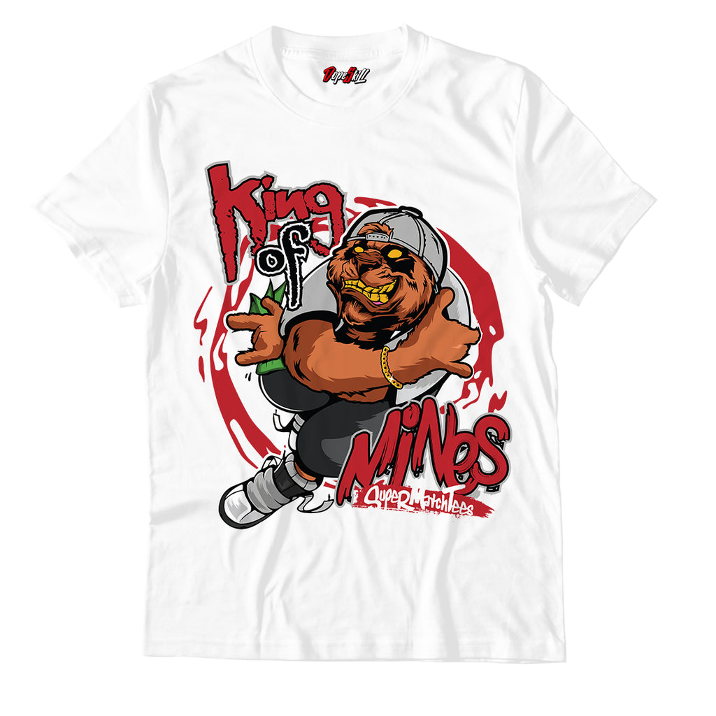 King Of Mines Unisex TShirt Match Jordan 1 Retro High Light Smoke Grey