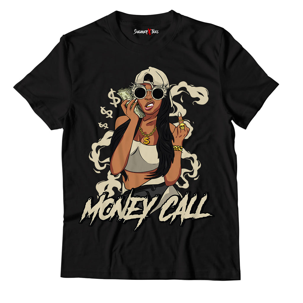 Money Call Unisex TShirt Match Yeezy Slide