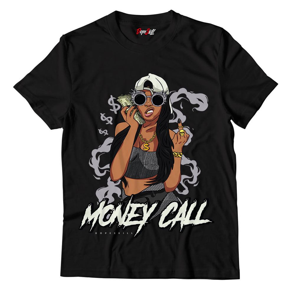 "Money Call Unisex TShirt Match Yeezy Boost 350 V2 ""Carbon"""