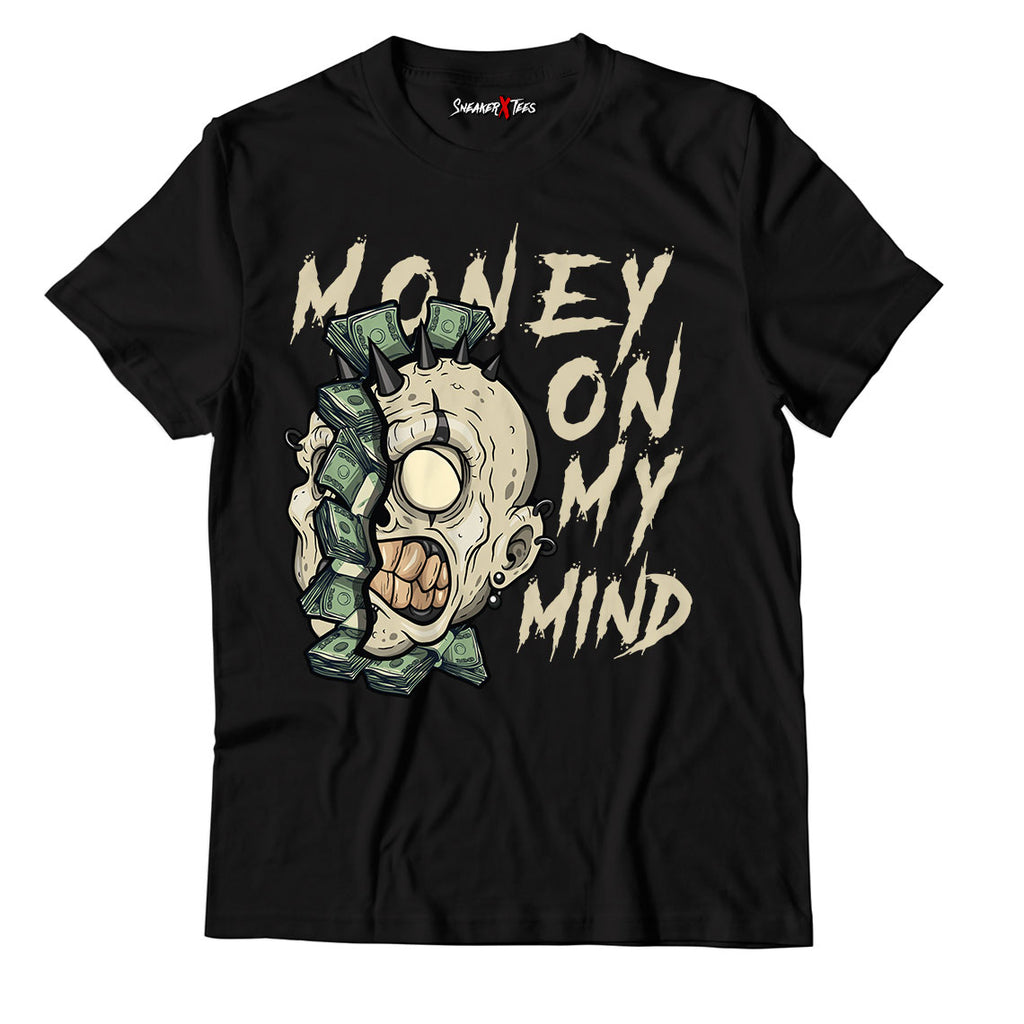 Money On My Mind Unisex TShirt Match Yeezy Slide