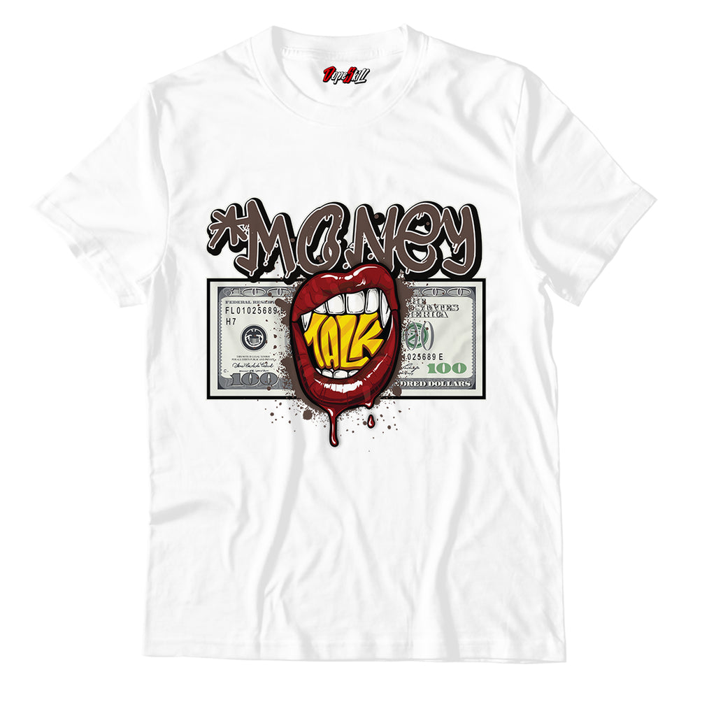 Money Talk Unisex TShirt Match Air Jordan 1 High OG TS SP Travis Scott