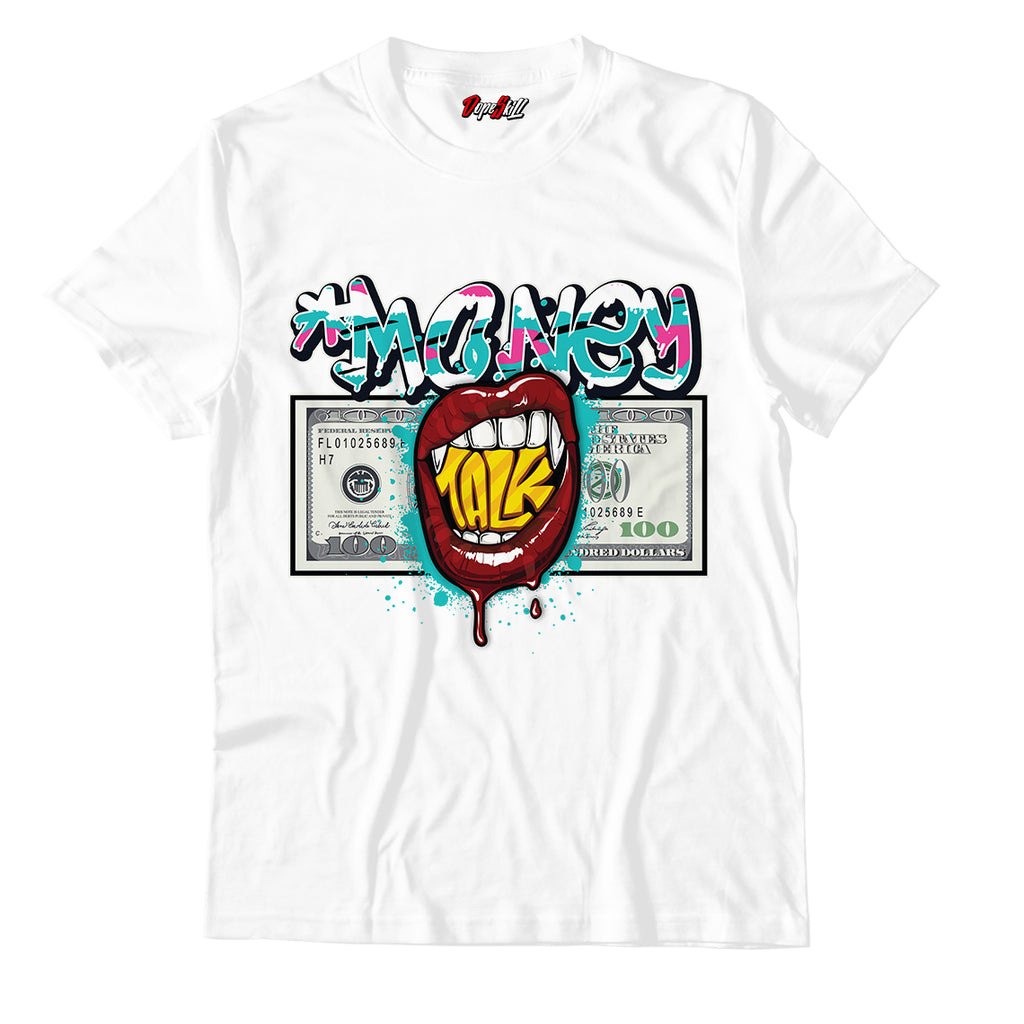 Money Talk Unisex TShirt Match Air Jordan 8 Retro 'South Beach'