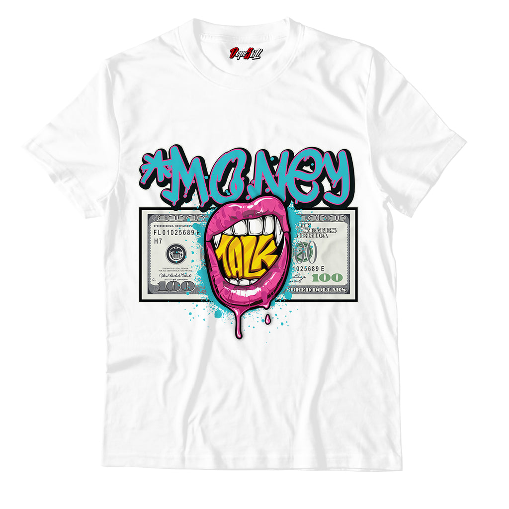 Money Talk Unisex TShirt Match Air Vapormax Flyknit 3 South Beach
