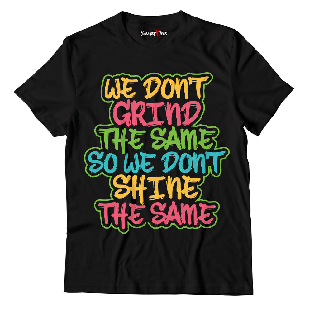 New Grind Different Unisex TShirt Match Air Jordan 1 High OG Bio Hack