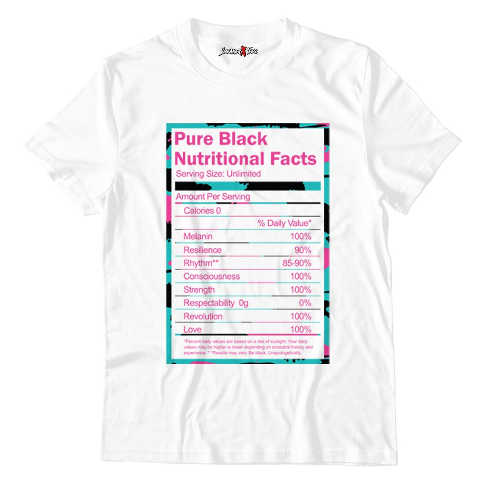 Pure White Unisex TShirt Match Air Jordan 8 Retro 'South Beach'