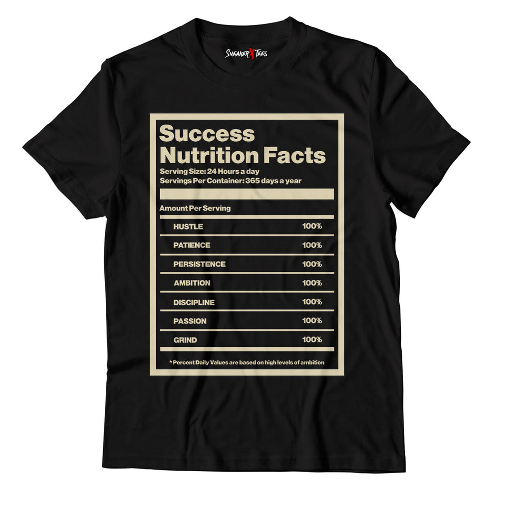 Success Nutrition Facts Unisex TShirt Match Yeezy Slide