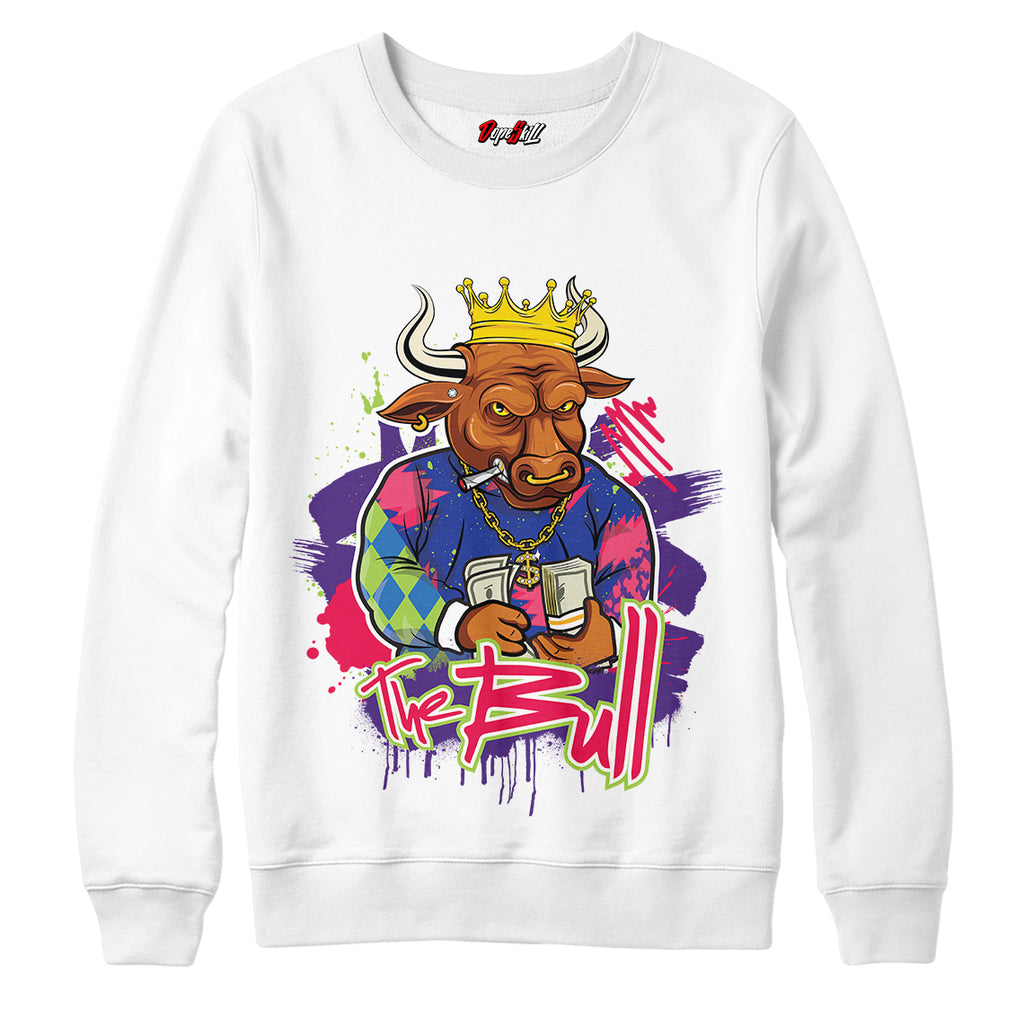 "The Bull Crewneck Sweatshirt Match Air Jordan 5 ""Bel-Air"""