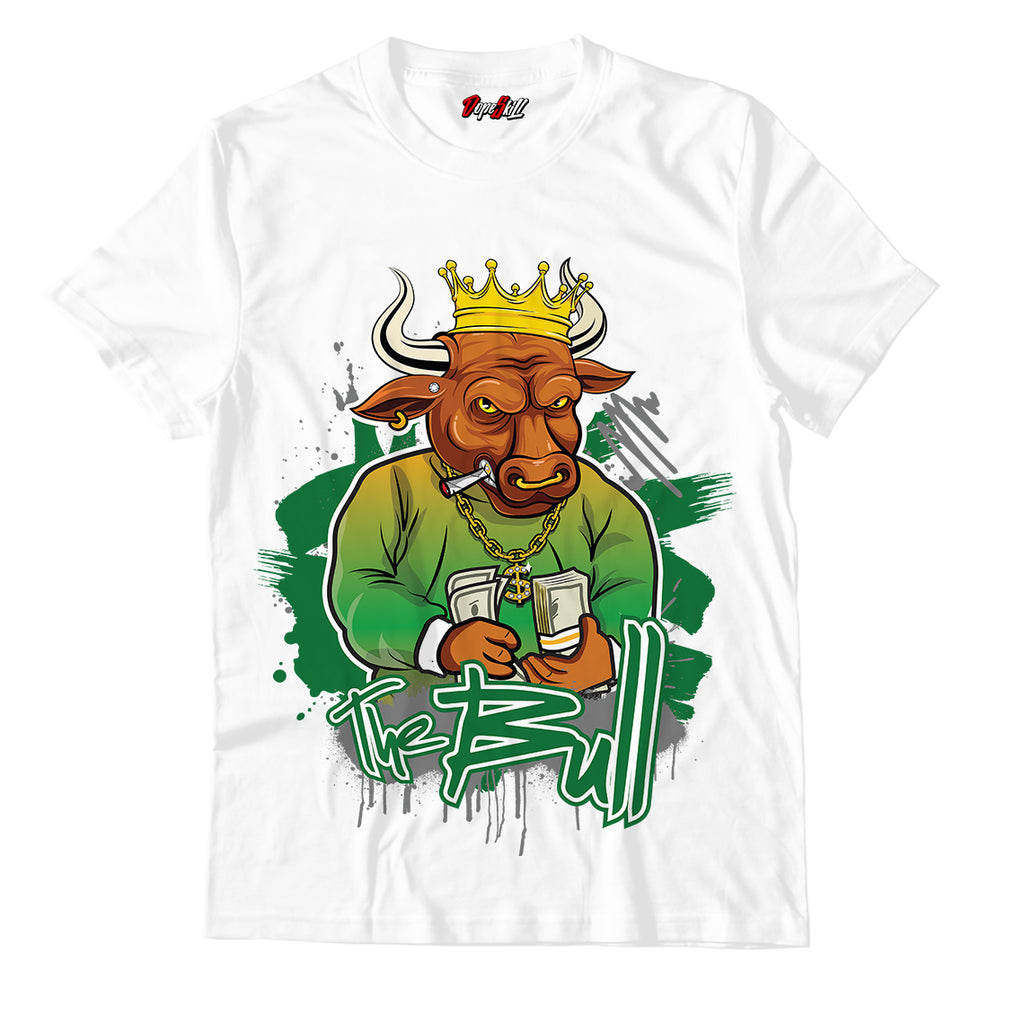The Bull Unisex TSshirt Match Jordan 4 Retro Rasta
