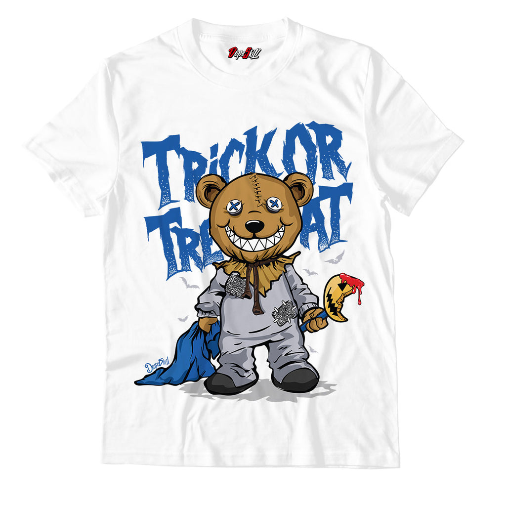 Trick Or Treat Unisex TShirt Match Air Jordan 3 Varsity Royal