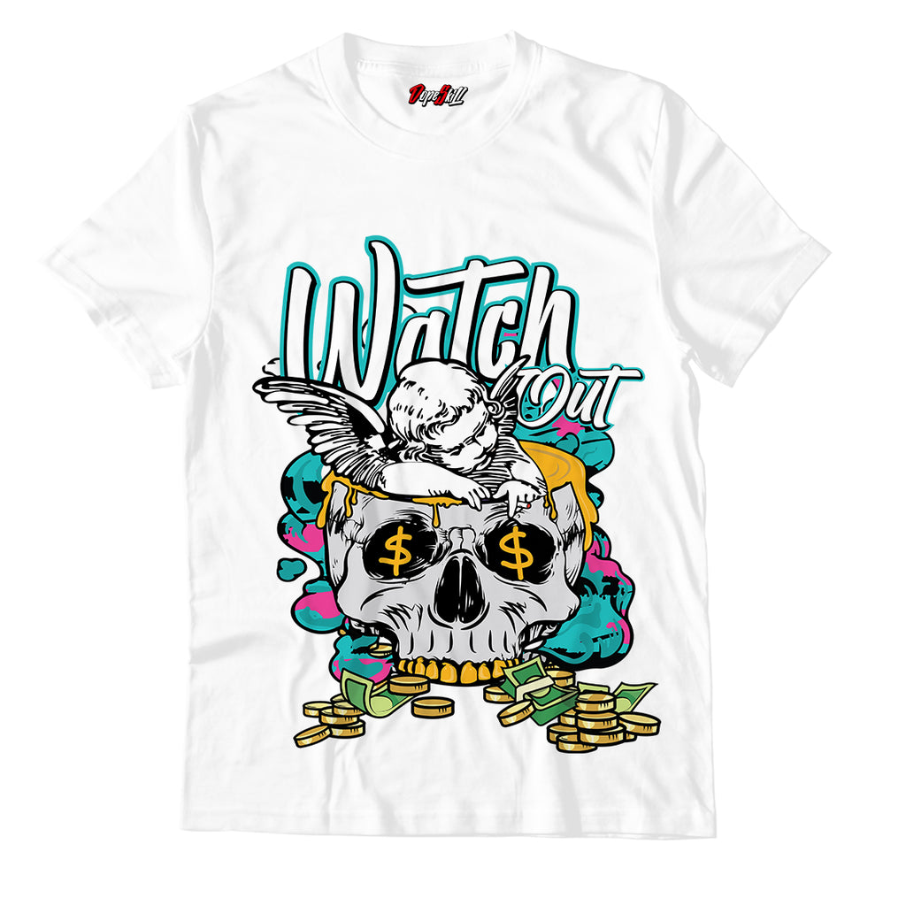 Watch Out Unisex TShirt Match Air Jordan 8 Retro 'South Beach'