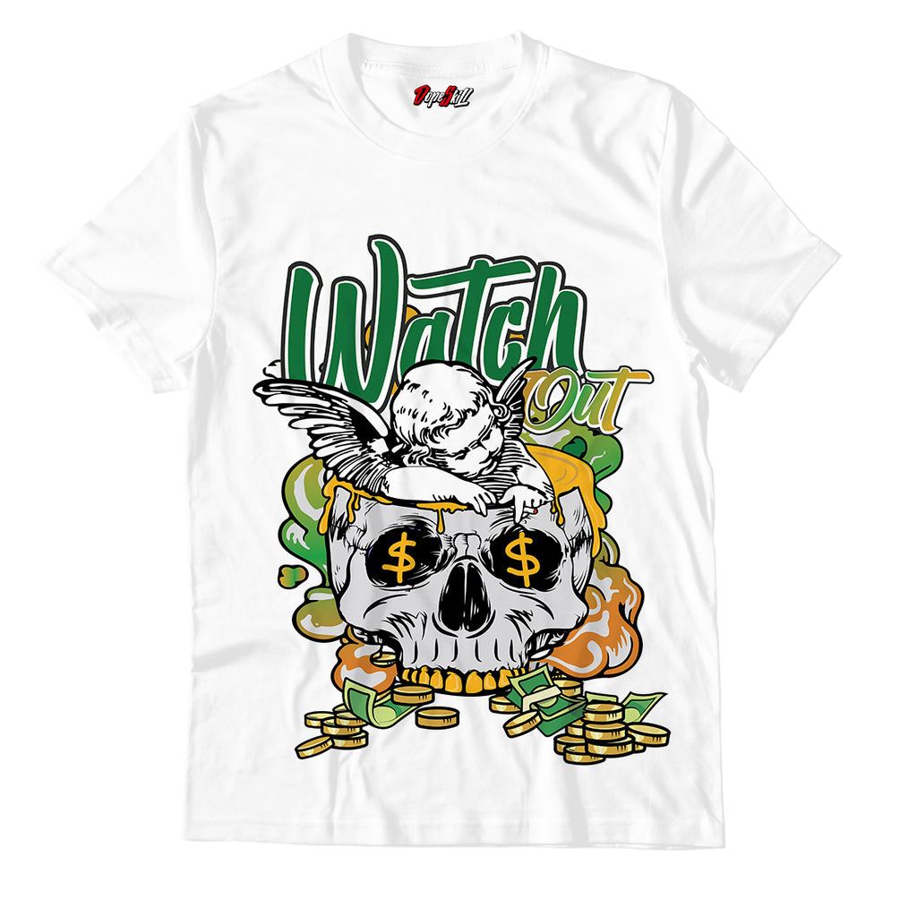 Watch Out Unisex TShirt Match Jordan 4 Retro Rasta