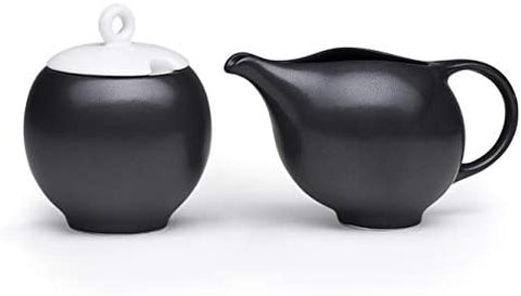 Maia Ming Designs Ceramic Creamer and Sugar Bowl
