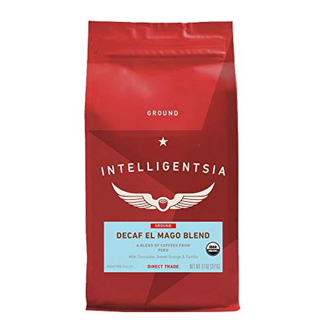 Intelligentsia El Mago Decaf Organic, 11 oz - Ground Coffee