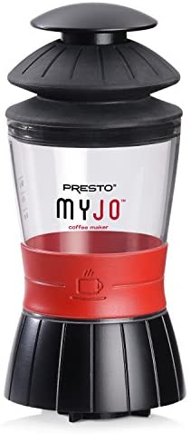 Presto MyJo Single Cup Coffee Maker, Black