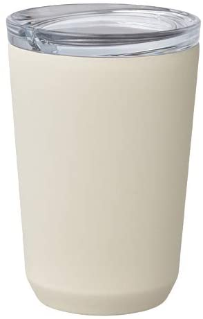 Kinto To-Go Tumbler 360ml (12 oz) φ86xH128mm White - Double Walled And Vacuum Insulated, Which Keeps Your Favorite Beverage Hot Or Cold For Hours