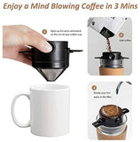 Reusable Portable Pour Over Coffee Filter
