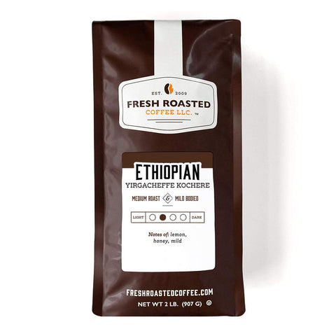 Fresh Roasted Ethiopian Yirgacheffe Kochere