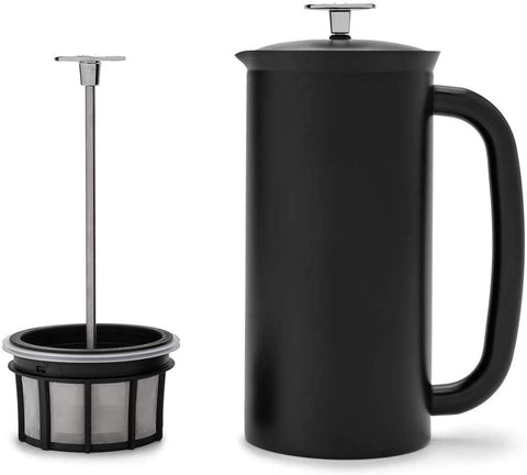 ESPRO Stainless Steel French Press, 32 Ounce, Matte Black