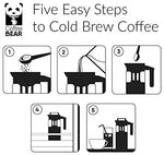 Cold Brew Coffee Maker, Iced Coffee Brewer