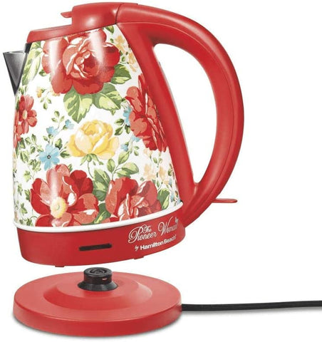 The Pioneer Woman 1.7 Liter Vintage Floral Electric Kettle