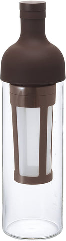 Hario Glass Cold Brew Coffee Bottle, 750ml, Brown